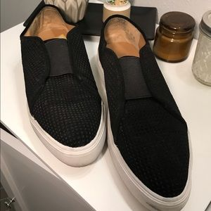 Vince Camuto suede Nadine sneakers